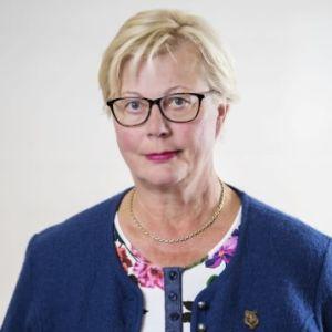 Kati Myllymäki, verksamhetsledare vi Finlands Läkarförbund.