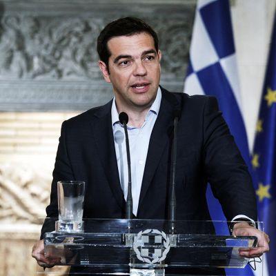 Kreikan pääministeri Aléxis Tsipras.