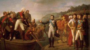 Gioacchino Giuseppe Serangeli: Napoleons och Alexanders adjö