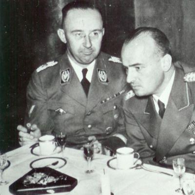 Bild på henrich himmler och hans frank