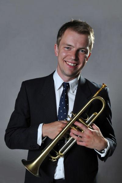 man med trumpet