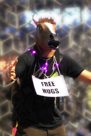 ilmaisia halauksia tarjolla henkilöltä jolla on lehmän pää