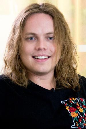 Kuvassa Antti Väre.