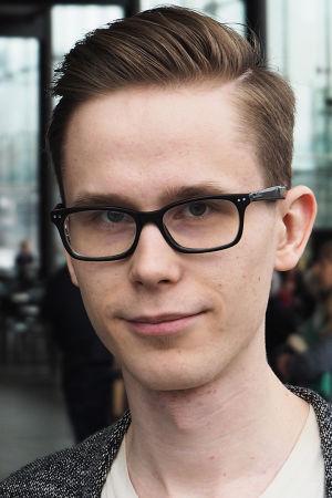 Säveltäjä Tuomas Kettunen.