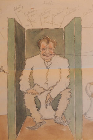 Kuvia Henrik Lindebergin päiväkirjasta.