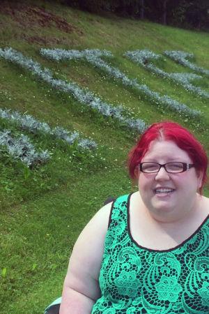 Kanadalainen Nightwish-fani Bailey Coty on käynyt Kiteellä jo kahdesti.