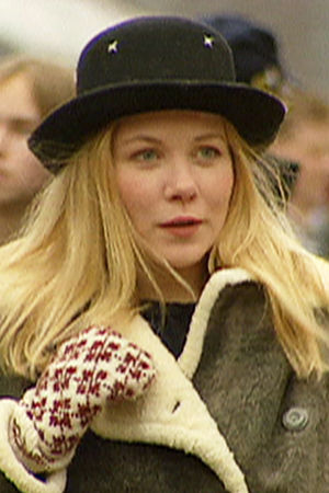 Laura Mäkimaa (Pirjo Moilanen) vuonna 1995.