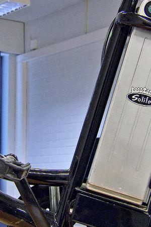 Solifer polkupyörän akku.