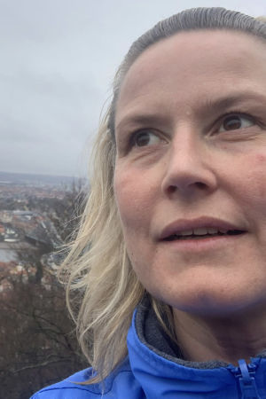 Selfiessä oopperalaulaja Camilla Nylund koronakeväänä 2020.