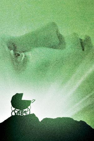 Rosemaryn painajainen -elokuvan juliste ilman tekstejä.
