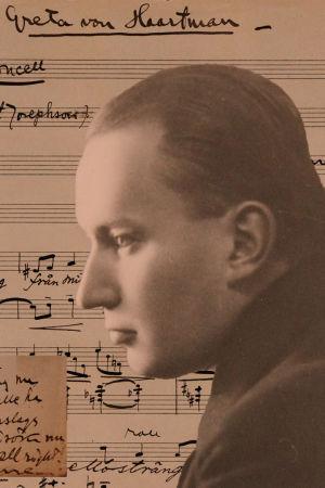 Aarre Merikannon nuottikäsikirjoitus Violoncell-kappaleesta.