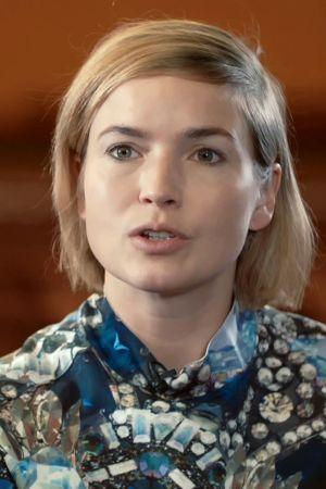 Näyttelijä Marja Salo.