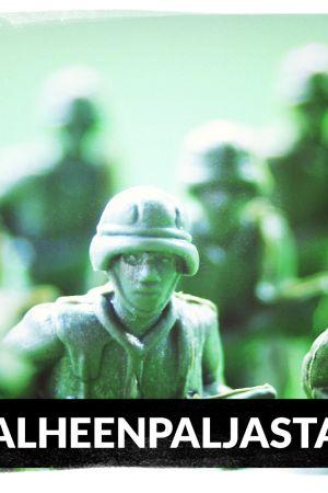 Lelusotilaita valmiina taisteluun.
