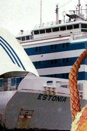 Autolautta Estonia Tallinnan satamassa.