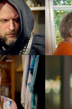 Fyra olika bilder av Himlalivgäster. Henrik Böckelman, Leif Lindgren, Gita Lindgren, Liisa Mendelin, Hilkka Olkinuora