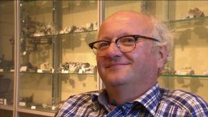 Olav Eklund professor i geologi vid Åbo Akademi