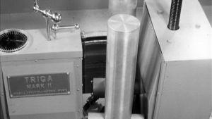 TKK:n Triga Mark II -mallisen reaktorin laitteistoa.