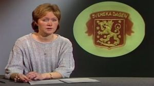 Monica Welling om Svenska dagen, 1985