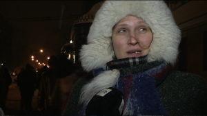 Lena Kuznetsova, hemlös i Moskva