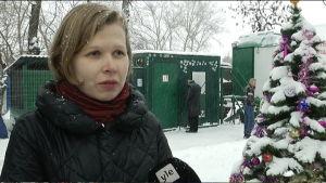 Anna Ovjasannikova, frivilligarbetare, Angar Spasenija