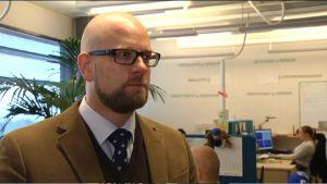 Tommi Bergendahl, chef för administrativ och finansiell service, Svea Ekonomi
