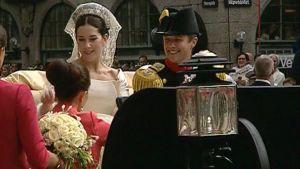 Vastavihityt kruununprinsessa Mary ja kruununprinssi Frederik.