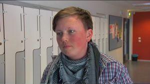 Willjam Fagerström går i åttonde klass på Kungsvägens skola i Sibbo.