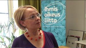 Johanna Latvala, projektchef, Förbundet för Mänskliga Rättigheter