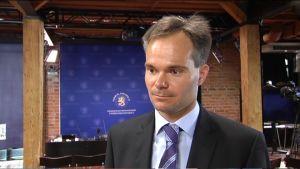 Utrikeshandels- och biståndsminister Kai Mykkänen.