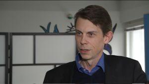 Fredrik Engvall, styrelseordförande och en av grundarna till moppi.com