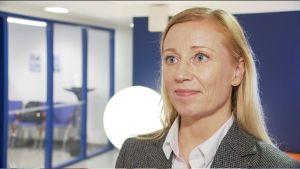 Porträtt på Katarina Murto, chef vid STTK