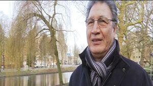 Ordföranden för den Turkiska arbetarföreningen i Nederländerna Mustafa Ayranci