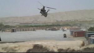 Militärhelikopter i Afghanistan