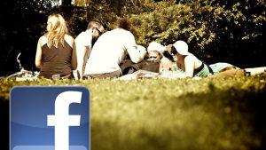 facebook i parken
