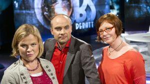 Debattledare: Ingemo Lindroos, Freddi Wahlström, Heidi Finnilä