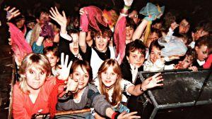 Publik på Dingos konsert