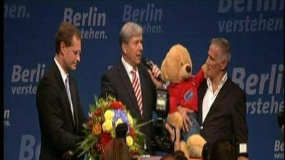 SPD mot seger i Berlin
