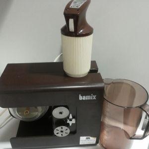 Anopilta saatu Bamix - 60-luvulla kertoi sen hankkineensa silloin kun sain sen.