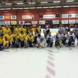 SVT Mediakronorna ja Yle Panthers ottelun jälkeen.