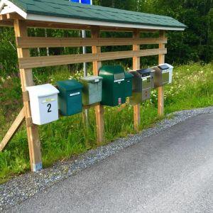 Kesäkirje, postilaatikot