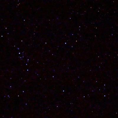 Tähtiä taivaalla. Kuva otettu Tharin autiomaalla.