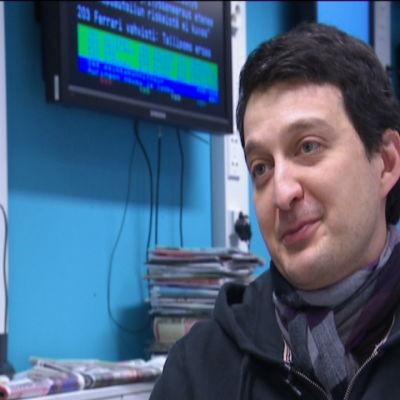 Levan Tvaltvadze är redaktör vid Yle Novosti