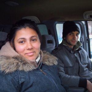 Maria, Inel, romska tiggare
