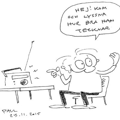 Paul Söderholms seriefigur Gnurf