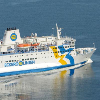Ett av Eckerö Linjens fartyg