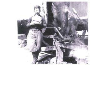 Börje Linderman år 1939