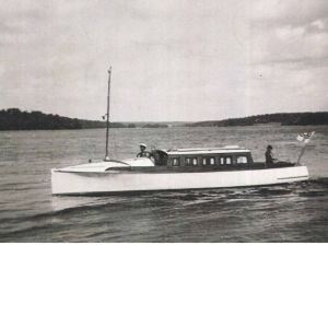 Båt år 1938