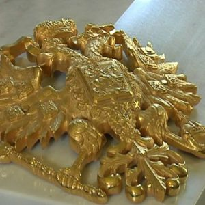 Romanovska släktemblemet