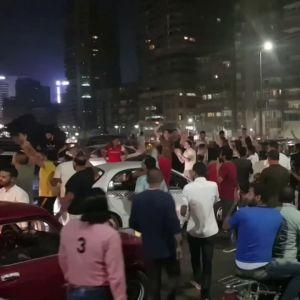 Protester i Egypten