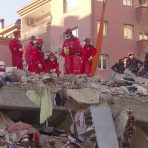 Jordbävning i Turkiet 30.10.2020